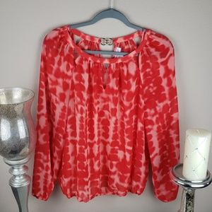 JLO corral blouse size medium